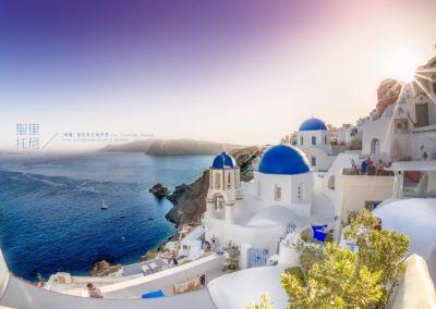 希臘-聖托里尼島伊亞